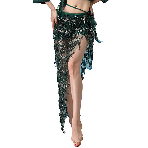 MUNAFIE Hip Scarf for Belly Dance Folk