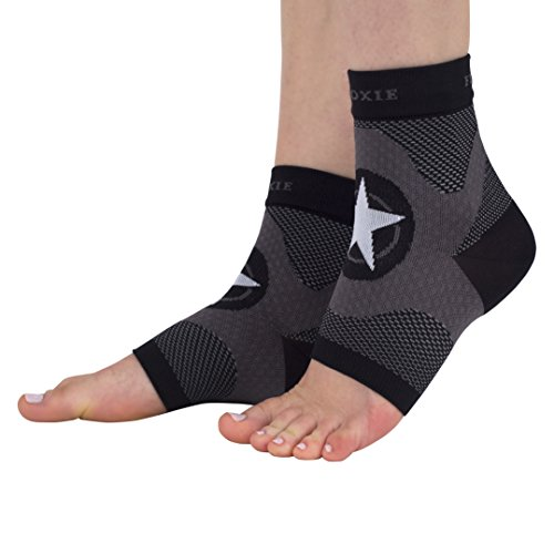 Compression Foot Sleeve for Plantar Fasciitis Treatment and Foot and Ankle Support Moxie Running Co.