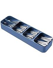 SOMIER Kitchen Drawer Organizer Tray for Cutlery Kitchen Knives Block Silverware Drawer Storage Box