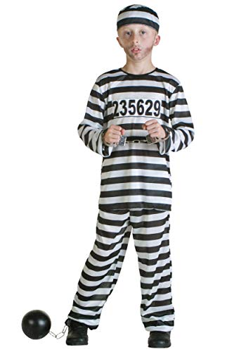 Kids Prisoner Costume - Small -