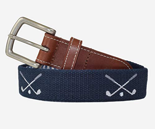 Golf Clubs Embroidered Men