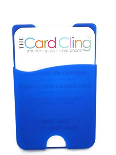 amazon com the card cling self adhesive silicone id credit