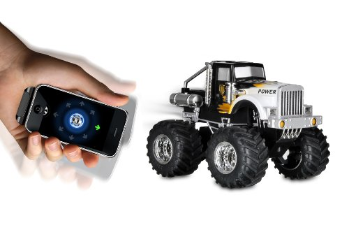 Dexim DXA013B4 AppSpeed Monster Truck for iPhone, iPod - Iphone Remote Control Truck