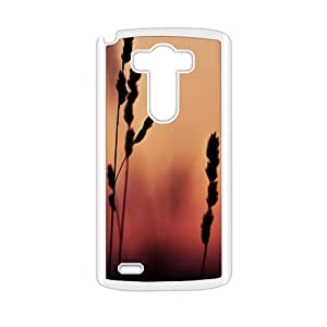 Wheat Fashion Personalized Clear Cell Phone Case For LG G3