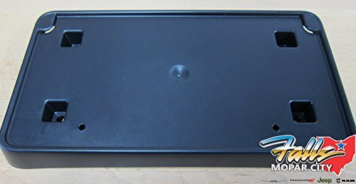 JEEP GRAND CHEROKEE Front Bumper License Plate Bracket NEW OEM MOPAR (Mopar License Plate Bracket compare prices)