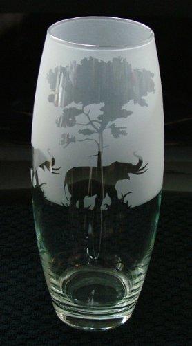 Elephant Under Tree Gift Vase Amazon Kitchen Home