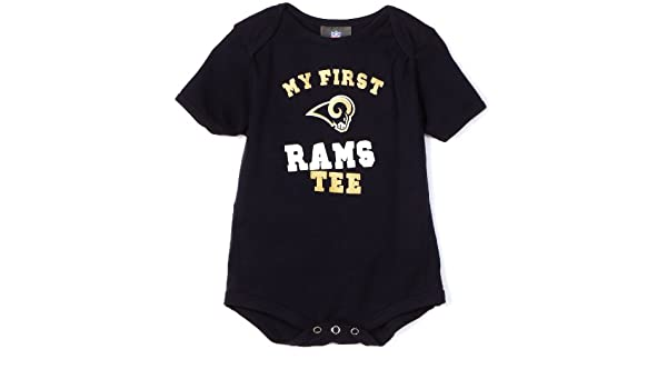 6e5ed319 Amazon.com : NFL St. Louis Rams My First Tee Onesie Infant/Toddler ...