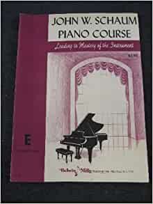 2 adult book course piano schaum