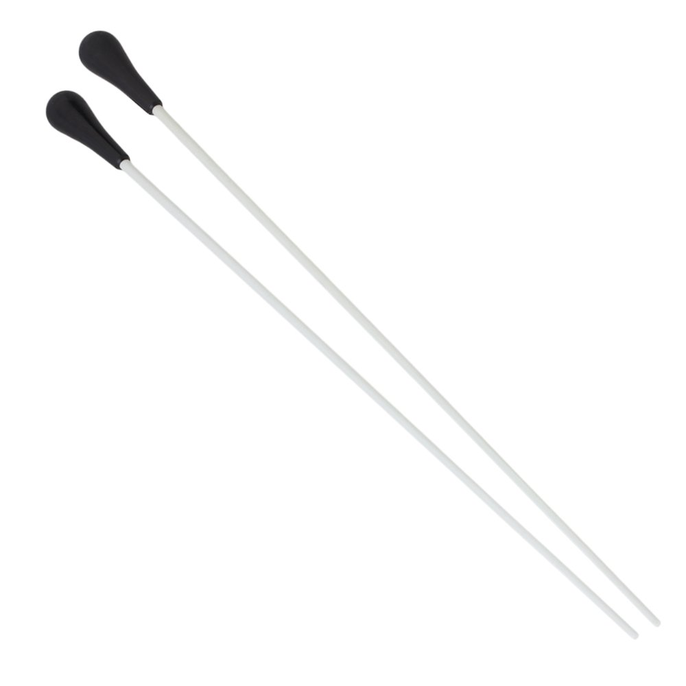 Yibuy Silver Conductor's Orchestra Choral Baton with Fibre Glass Set of 2 etfshop Yibuy30