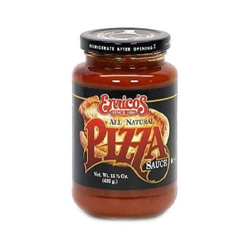 Enrico's All Natural Pizza Sauce, 15.5 Ounce (Pack of 6)