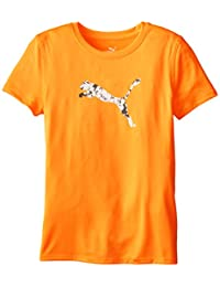 PUMA Girls Big Girls Short Sleeve Core Tee Shirt
