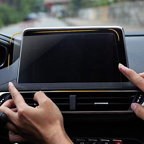 1PCS Glass Interior GPS Navigation Screen Protector Anti-Fingerprint Tempered Films For Peugeot 3008 5008 GT 2017-2018