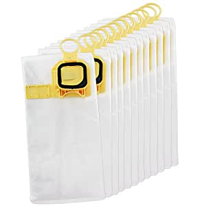 Amazon.com: SPARES2GO Gamuza de microfibra Hoover bolsas ...