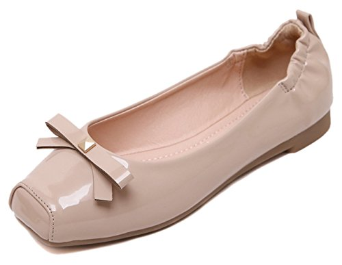 US Ballet Shoes Women's Flat Chickle Nude 6 qBHYg