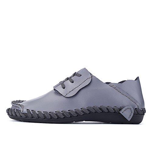 Mocassini Uomo Alto e Scarpe con Tacco shoes Tacco 2018 da Nuovo Grigio Piatto Xujw ZwtHcq
