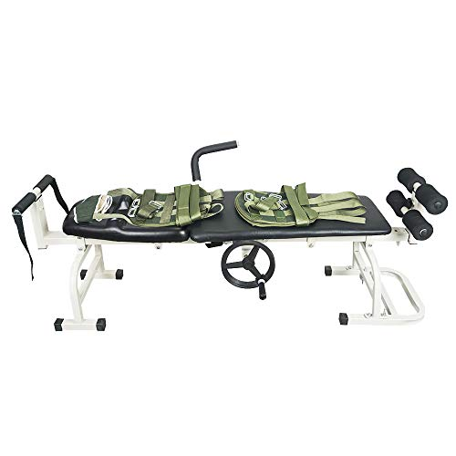 Pumplus New Massage Bed Table Cervical and Lumbar Traction Bed Body Stretching Relaxing