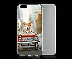 P-insa& Light also weight with strong PC plastic case for Iphone 6 and Artists Loose Leashes Loose it Leashes -Skedaddle from