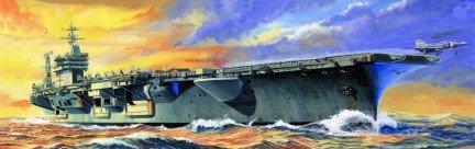 (Trumpeter 1/700 USS Nimitz CVN68 Aircraft Carrier 1975 Model Kit)