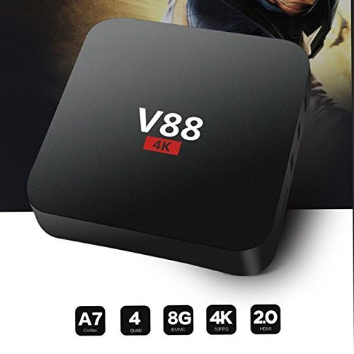 Smart TV Box,EEDISmart TV Box Player XBMC WiFi Full 1080P HD Android 5.1 Quad Core Mini PC