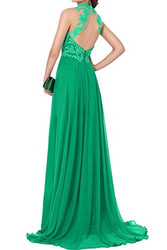 2017 Lang Promkleider Huntergruen Festkleid Abendkleider Ivydressing Spitze Navy Chiffon Neu Elegant RnwqFqB4