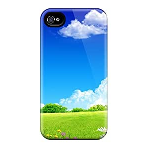 Excellent Design Clean Home Sky Case Cover For Iphone 4/4s