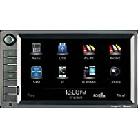 Jensen XRV10 Double DIN 10.1 Touchscreen Bluetooth Multimedia Receiver & Back-Up Observation System System, SiriusXM Ready / Built-In BT Technology / iPhone - iPod / MHL / HDMI / USB / AV In