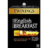 Twinings English Breakfast 50 Btl. 125g (Original englische Version) - Schwarzer Tee