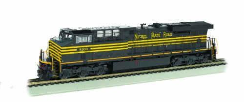 Bachmann GE es44 ACニッケルプレートRoad DCC Sound Value Equipped Locomotive ( Ho Scale )