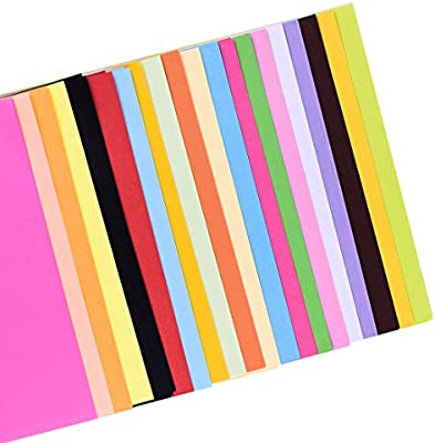 Colorful A4 Copy Paper More Fun To Do Crafting Decor Cutting Paper 100 Sheets