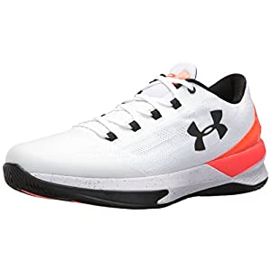 Under Armour Men's Charged Controller, White (100)/Phoenix Fire, 13