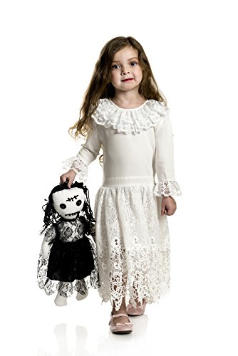 Charades Little Miss Voodoo Children's Costume, -