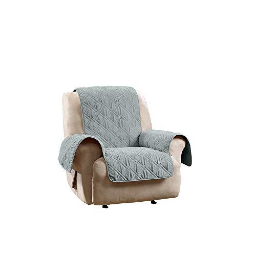 SureFit  Deluxe Non Skid Waterproof Pet Recliner Furniture Cover, Mist