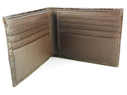Wallet American Underwood by Alligator Charles Billfold Alligator Chocolate Billfold American X6qwwAHOx