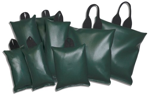 Patient Positioning Sandbags - Set of 8 Sandbags, 3-lb, 5-lb, 7-lb, 10-lb, Available in 6 Colors by Colortrieve (Image #1)