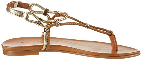 Marron coconut Inuovo 16780425 gold 7129 Femme Tongs rqIptfI