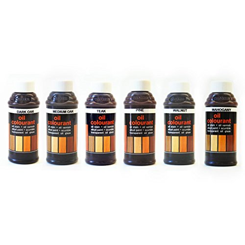wood-graining-oil-colorant-kit-six-colors-for-tinting-oil-based-glazes