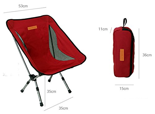 Trekology Portable Camping Chairs Adjustable