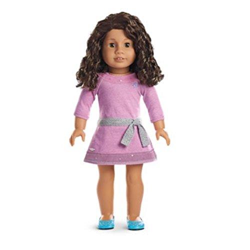 American Girl - Truly Me™ Doll: Medium Skin, Curly Dark Brown Hair, Brown Eyes DN26
