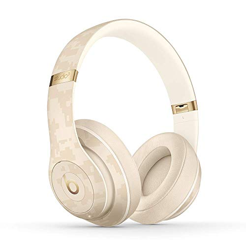 Beats Studio3 Wireless Noise Cancelling Over-Ear Headphones - Beats Camo Collection - Sand Dune (Renewed)