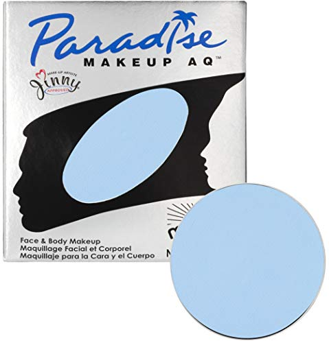 Mehron Makeup Paradise Makeup AQ Refill (.25 oz) (LIGHT BLUE)