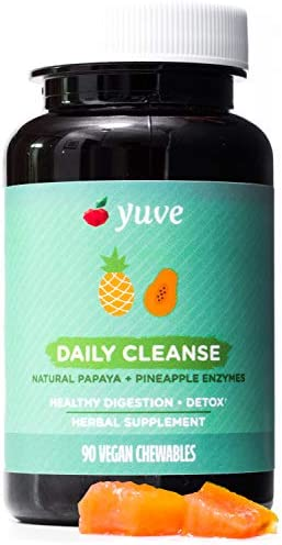 Yuve Natural Chewable Digestive Enzymes product image