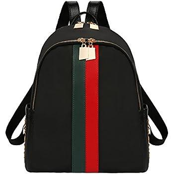 fcf30e5ced4b xhorizon FL1 Double Zippers Leather Luxury Designer Women Backpack Bag  Ladies Teenager Tote Handbag