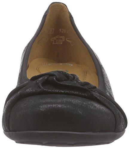 Gabor Gabor Schwarz Mujer 97 Comfort Negro para Bailarinas rr0dwO
