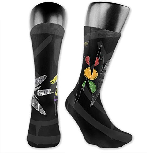 Yhj Over The Calf Tube Ankle Socks Knee Length Blink 182 Sock Sport Legs/Boots Knee High Mid-Calf ()