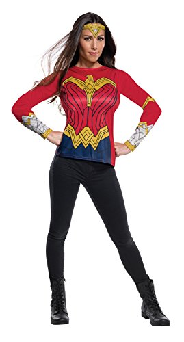 [Rubie's Women's Wonder Woman Adult Costume Top, As Shown, X-Large] (Top Women Costumes)