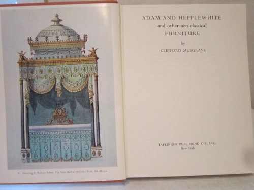 Adam and Hepplewhite and Other Neo-Classical Furniture (Rosette Furniture)