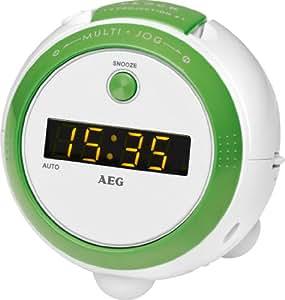 AEG MRC 4126 P - Radiodespertador con proyección de la hora