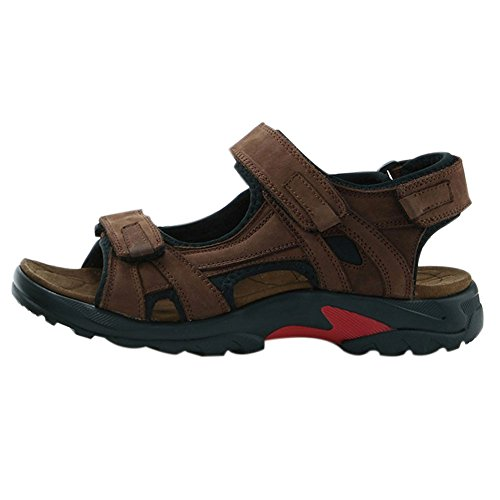 Image of iLoveSIA Mens Leather Sandals Athletic and Outdoor Shoes