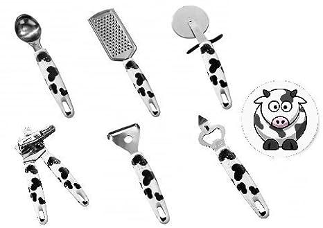Stampe Da Cucina : Shop of accessories® mucca stampa kit di utensili da cucina