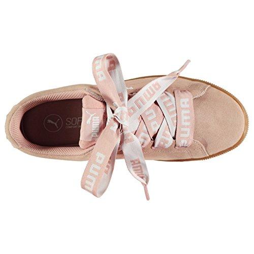 pour Chaussures plate Sneakers ruban Sports forme femme Officiel Baskets Vikky Baskets Puma Pêche qfHS0